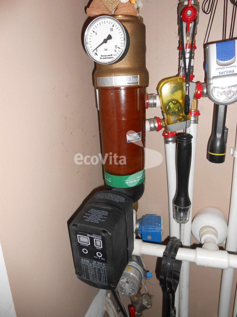 Сетчатый фильтр с автоматом промыва